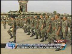 Continúa controversia por servicio militar obligatorio