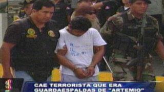 """Capturan a miembro de seguridad del cabecilla senderista """"Artemio"""""""