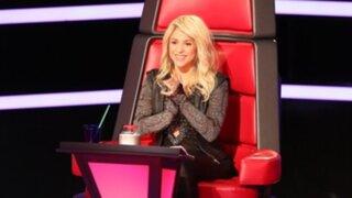 """Shakira atrajo a millones de espectadores en su debut del reality """"The Voice"""""""