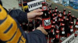 La cerveza 'Duff' de Los Simpson fue decomisada en un almacén chileno
