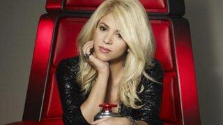 La cantante Shakira reaparece en reality de canto estadounidense