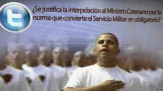 Peruanos consideran acertado el pedido de interpelación a ministro Cateriano