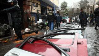 Dirove asestó nuevo golpe a mafias de ladrones de vehículos