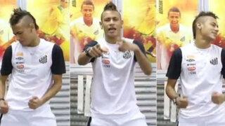 """Futbolista Neymar causa furor con nueva coreografía de """"Las Culisueltas"""""""