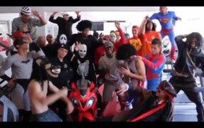 Inter de Porto Alegre se unió a la fiebre del Harlem Shake