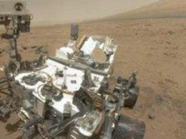 Robot 'Curiosity' detuvo exploración en Marte por fallas en su computadora