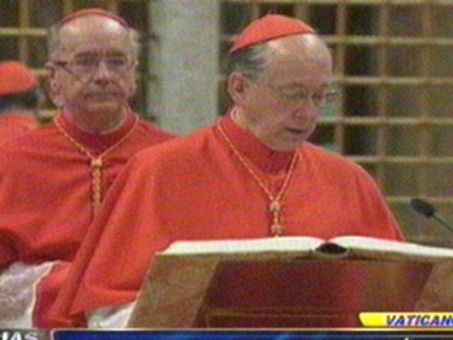 Noticias de las 5: Cipriani juramentó en cónclave que elegirá futuro Papa