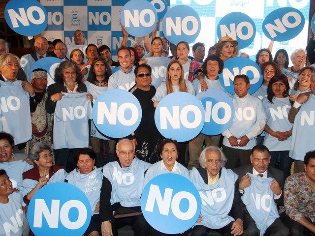 Favre detalla su participación en la campaña contra la revocatoria