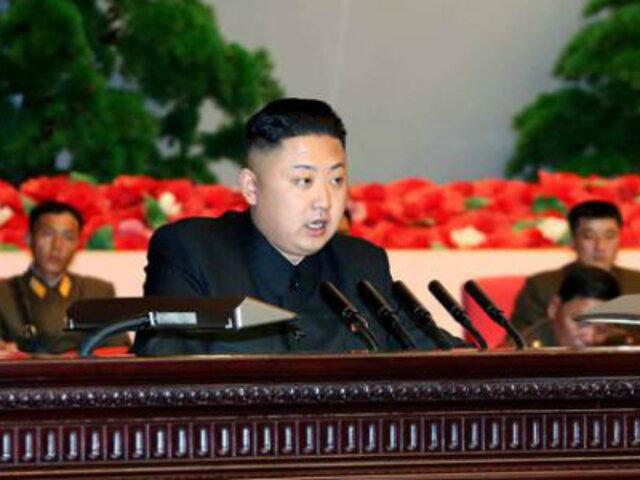 Kim Jong-un ordenó ampliar arsenal nuclear para enfrentar a Estados Unidos