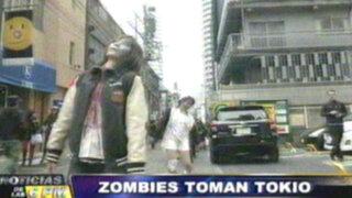 Noticias de las 6: jóvenes 'zombies' invaden la ciudad de Tokio