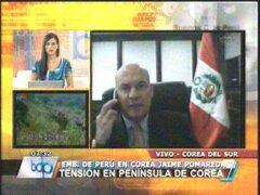 Embajador peruano afirmó que población surcoreana está tranquila