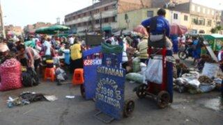 El caos y la inseguridad reinan nuevamente en La Parada