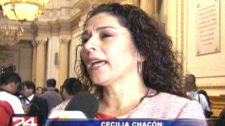 Cecilia Chacón: Presidente Humala no está acostumbrado a tomar decisiones