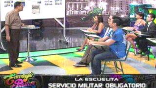 La Escuelita: conoce los beneficios del servicio militar obligatorio