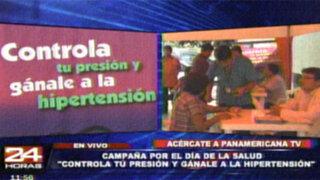 Buenos días Perú promueve campaña de despistaje de hipertensión