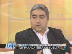 Marcos Zevallos: Fallo del juez Urbina tiene nulo sustento jurídico