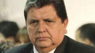 Denunciarán a Alan García ante Fiscalía por caso 'Narcoindultos'