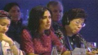 Nadine destacó políticas inclusivas peruanas en convención de España