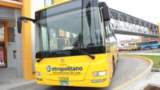 Metropolitano: hoy se restableció el servicio de los buses alimentadores