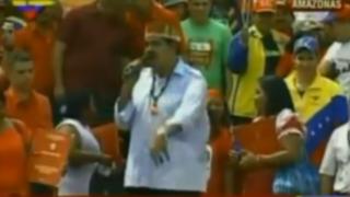 Nicolás Maduro canta improvisado rap para burlarse de Capriles