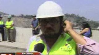 Emape: Derrumbe no afectará continuidad de obras del Túnel Santa Rosa