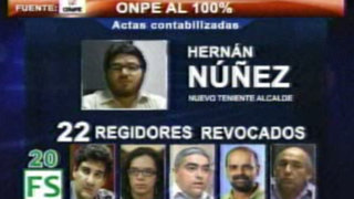Hernán Nuñez es nuevo Teniente Alcalde en reemplazo de Eduardo Zegarra