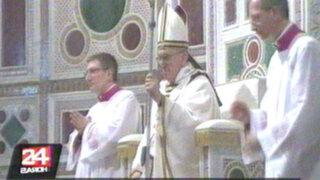 Papa Francisco pide a la Iglesia seguir luchando contra la pedofilia