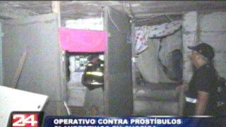 Chosica: clausuran prostíbulos clandestinos en Carapongo