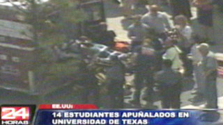 Bloque Internacional: joven acuchilló a 14 personas en Estados Unidos