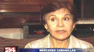 Mercedes Cabanillas: Las reelecciones 'camufladas' no son para el Perú