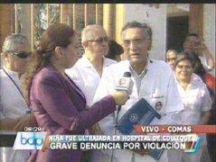Piden renuncia del director del Hospital Sergio Bernales tras violación de niña