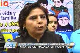 Ministra Jara exige justicia para menor que fue ultrajada