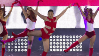"""PSY imitó a Beyoncé bailando coreografía de """"Single Ladies"""""""