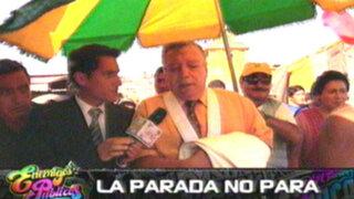 La Parada no para: comerciantes reciben entre elogios a juez Malzon Urbina