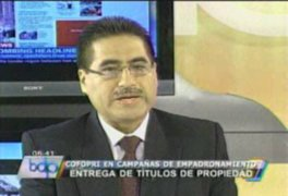 Cofopri entregará  títulos de propiedad en Carabayllo, Comas y Puente Piedra