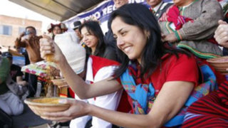 Nadine Heredia desestima posible candidatura desde Puno