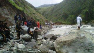 La Libertad: continúan búsqueda de 8 desaparecidos en el río Moche