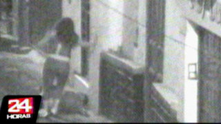 Cajamarca: cámaras captan a mujer que golpea salvajemente a su pareja