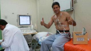 Bloque Deportivo: 'Checho' se reintegró a entrenamientos de Sport Huancayo
