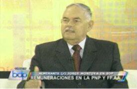 Califican de dictador a ministro Castilla por reformas salariales en FFAA