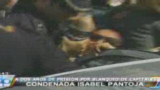 Isabel Pantoja fue abucheada tras su salida de tribunales