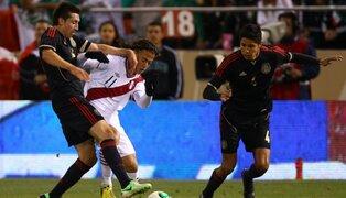 Benavente debutó con la selección absoluta en el empate 0 a 0 con México