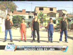 Menudo Kids causa furor entre jovencitas de Villa María del Triunfo