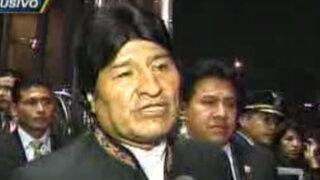 Evo Morales: Terminemos con hegemonía estadounidense en América Latina