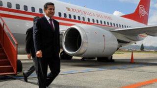 Humala llega a Venezuela y ratifica respaldo de Unasur a Maduro