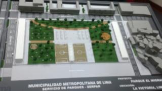 Municipalidad de Lima presentó maqueta del Parque del Migrante