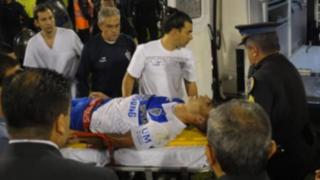 Dramáticos casos de futbolistas que sufrieron en la cancha