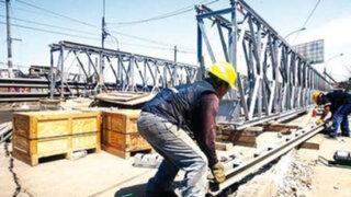 Álvaro Espinoza: Puente bailey estaría completo para mayo del 2014