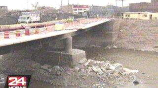 Demolerán antiguo puente 'Bella Unión' para colocar puente Bailey