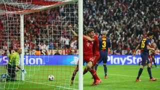 Bayern Munich vapuleó 4-0 al Barcelona por la Champions League